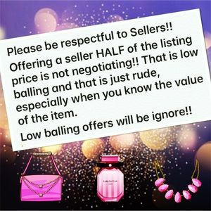 No Low Ball Offers!!